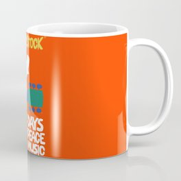 Woodstock, the biggest music festival in the 60s Coffee Mug