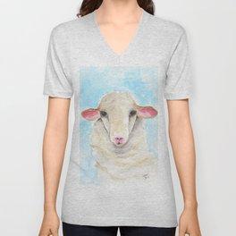 Little Lambs Eat Ivy Unisex V-Neck