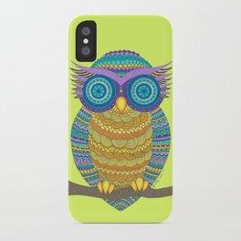 Henna Owl iPhone Case