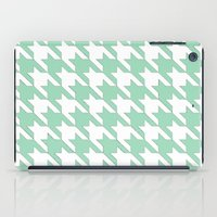 tooth iPad Cases featuring Mint Tooth by Project M