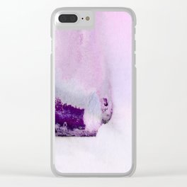 A Serene Life 3H - by Kathy Morton Stanion Clear iPhone Case
