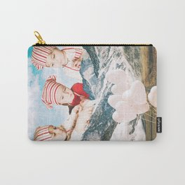 Playing With Snow Carry-All Pouch