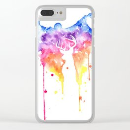 Dementor and Harry's Patronus Clear iPhone Case
