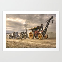 Traction Power  Art Print