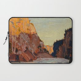 Tom Thomson - Petawawa - Canada, Canadian Oil Painting - Group of Seven Laptop Sleeve
