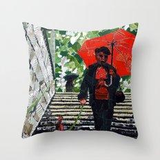 Metro (Métro) Throw Pillow