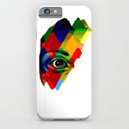 eye posterize iPhone Case