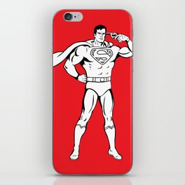 Faster Than A Speeding Bullet iPhone Skin