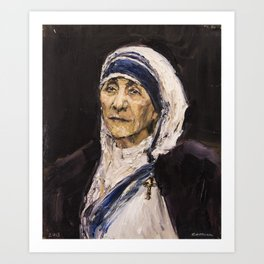 St. Teresa of Calcutta Art Print