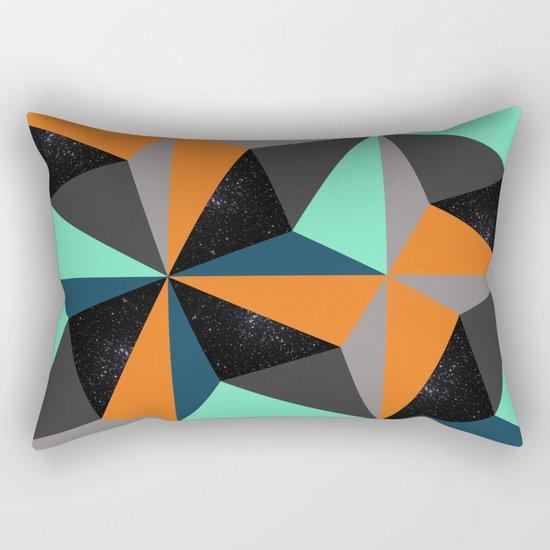 View at Night Rectangular Pillow