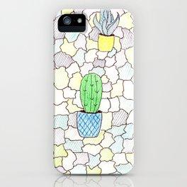 Cactuses iPhone Case
