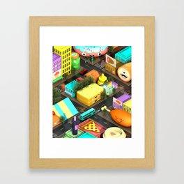 Voracious Digest Framed Art Print