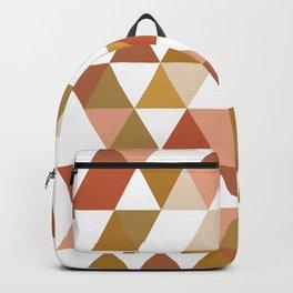 Desert Triangle Pattern Backpack