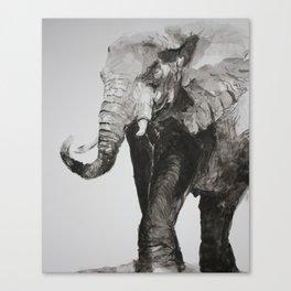 Marching Elephant Canvas Print