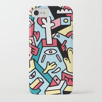 totem iPhone & iPod Cases featuring ToTem by Mister Phil