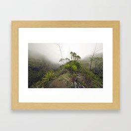 Mafate Framed Art Print