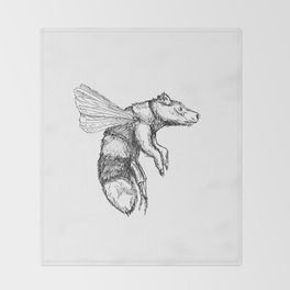 Bumblebear Throw Blanket