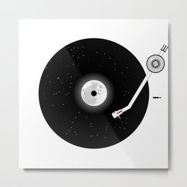 The Music of the Moon and the Stars Metal Print