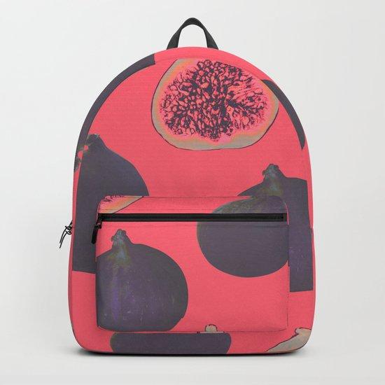 Fig pattern Backpack