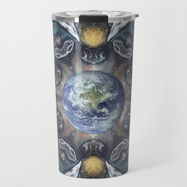 The Keepers of the Garden // Bee Beehive Insect Earth Nature Organic Sustainable Animal Environment Travel Mug