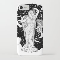 ghost iPhone & iPod Cases featuring Ghost by Corinne Elyse