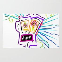 WHAT THE ?? EMOJI Meemogie Art Rug