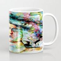 mythology Mugs featuring Mythology by Joe Ganech