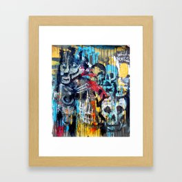 The Tasteful Catacombs  Framed Art Print