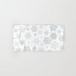 Snowflake pattern Hand & Bath Towel
