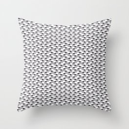 Cubic Perspective Throw Pillow