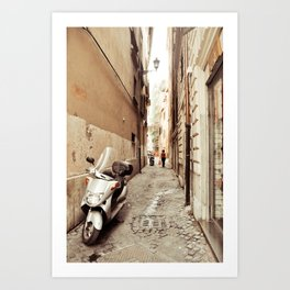 Postcards from Italy: Rome Art Print