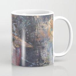 Alien Pomegranate Flower Coffee Mug