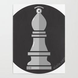 b.eye.shop b&w Poster