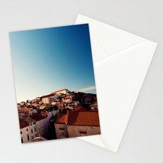 Sunrise in Dubrovnik Stationery Cards