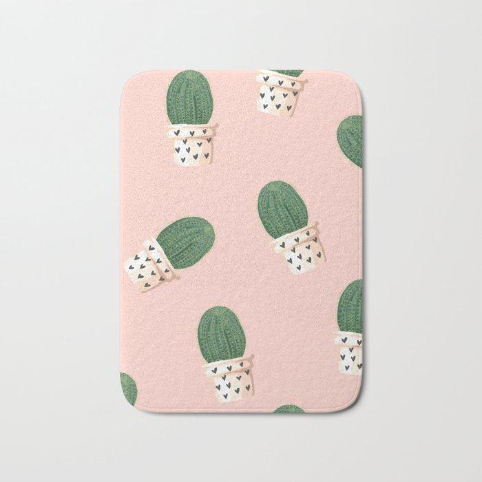 cacti #society6 #decor #buyart Bath Mat