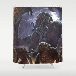 GREAT ANCIENT CTHULHU Shower Curtain