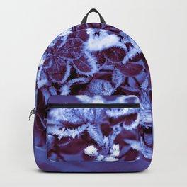 Ultra Violet Ice Crystal Poetry Backpack