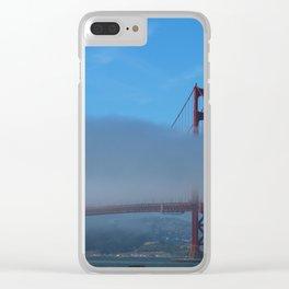 The Golden Gate Bridge Clear iPhone Case