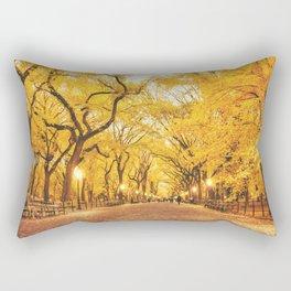 New York City Autumn Rectangular Pillow