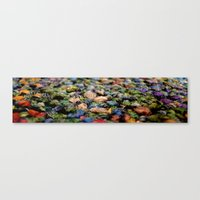 rug Canvas Prints featuring Rug by Eleanor E Soule