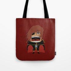Screaming Captain Harlock Tote Bag