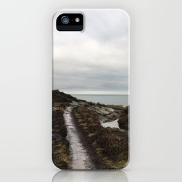 Anglesey - The beaten track iPhone Case