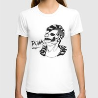 punk T-shirts featuring PUNK by Callum Longworth