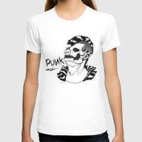 punk rock T-shirts featuring PUNK by Callum Longworth