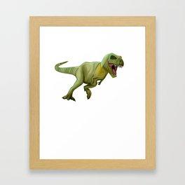 Kids Boys 8th Birthday print Dinosaur T-Rex Tyrannosaurus Rex Framed Art Print