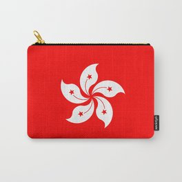 Hong Kong Flag Carry-All Pouch