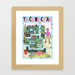technician Framed Art Print