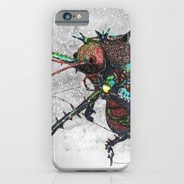 Frozen Beetle iPhone Case