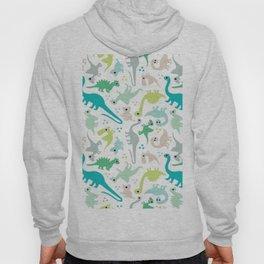 Dinosaur fabric Hoody