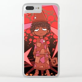 Serious Wizard Clear iPhone Case